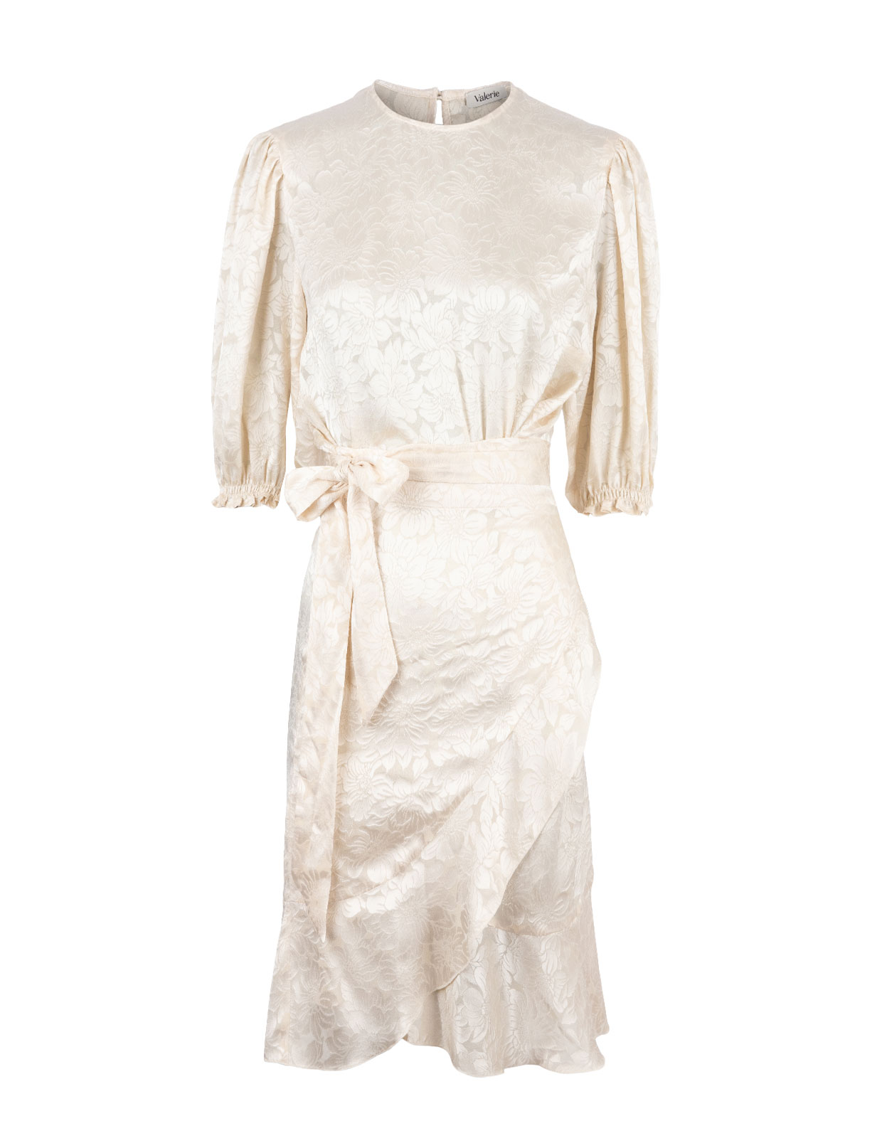 Karma Jaquard Dress Cream