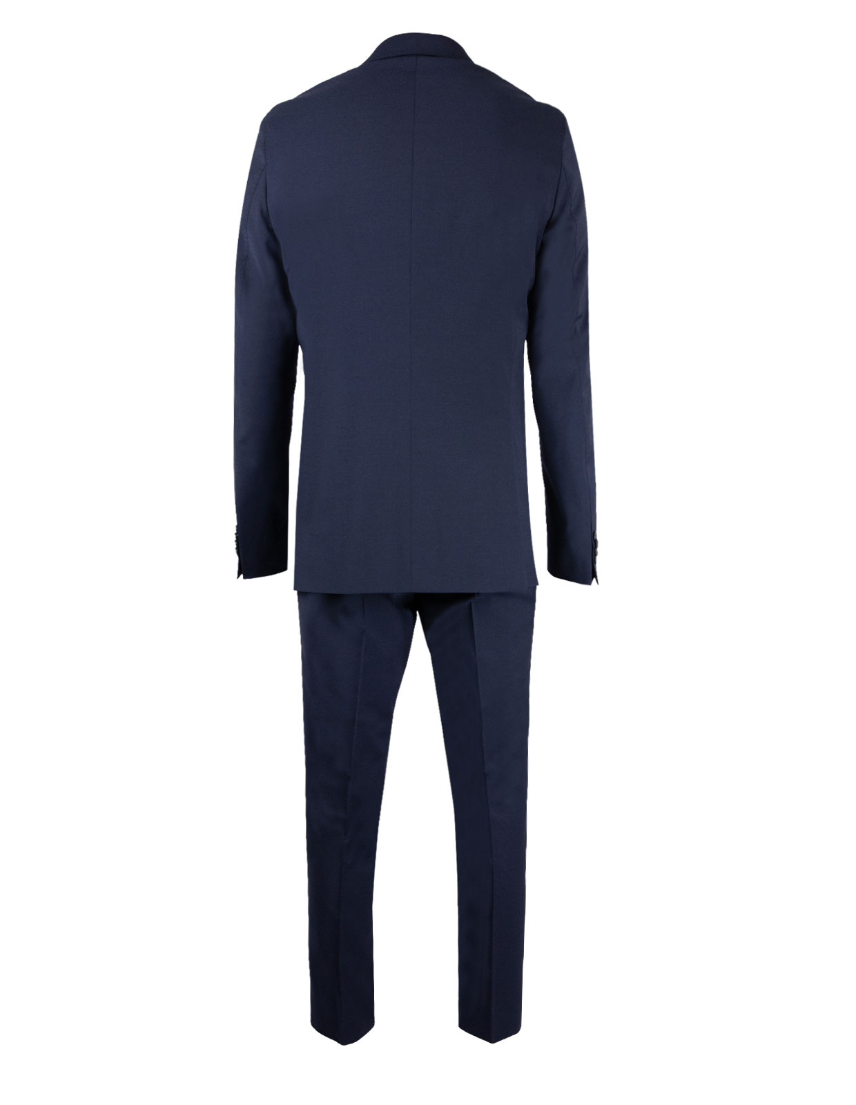 Ego Suit Slim Wool Stretch Italy Blue