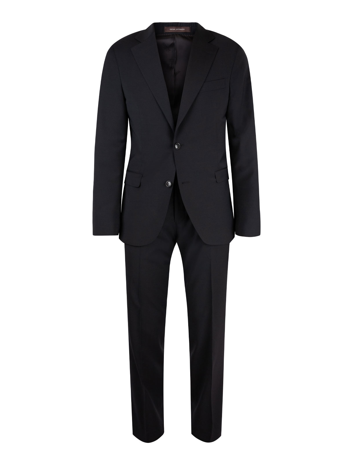 Ego Suit Slim Wool Stretch Black