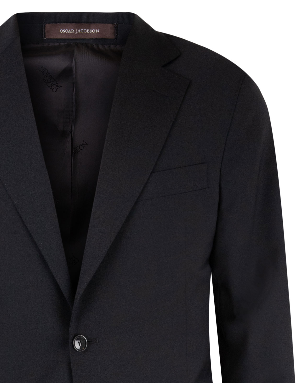 Ego Suit Slim Wool Stretch Black Stl 150