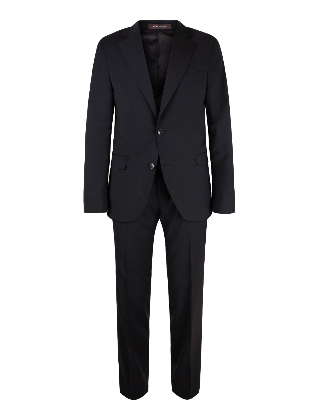 Falk Suit Regular Wool Stretch Black