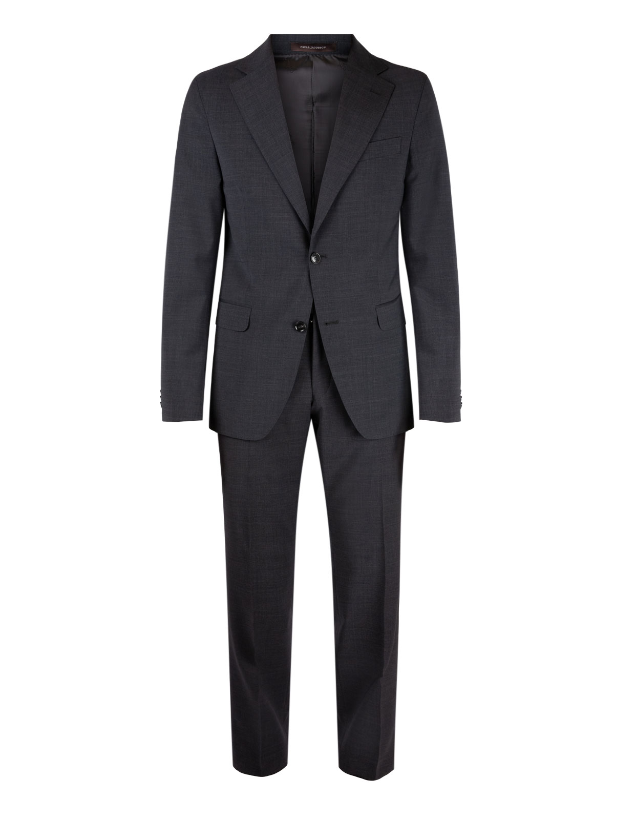 Falk Suit Regular Wool Stretch Dark Grey