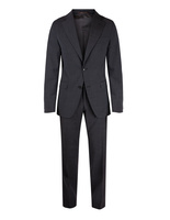 Ego Suit Slim Wool Stretch Dark Grey