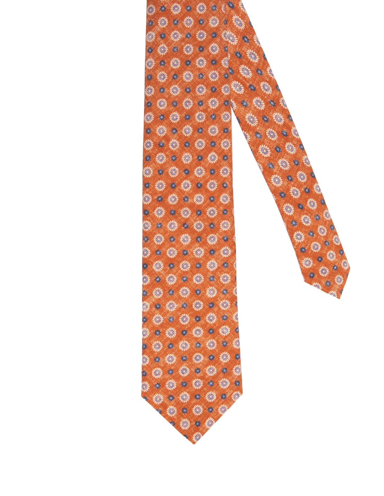 Sandwashed Silk Tie Washed Orange