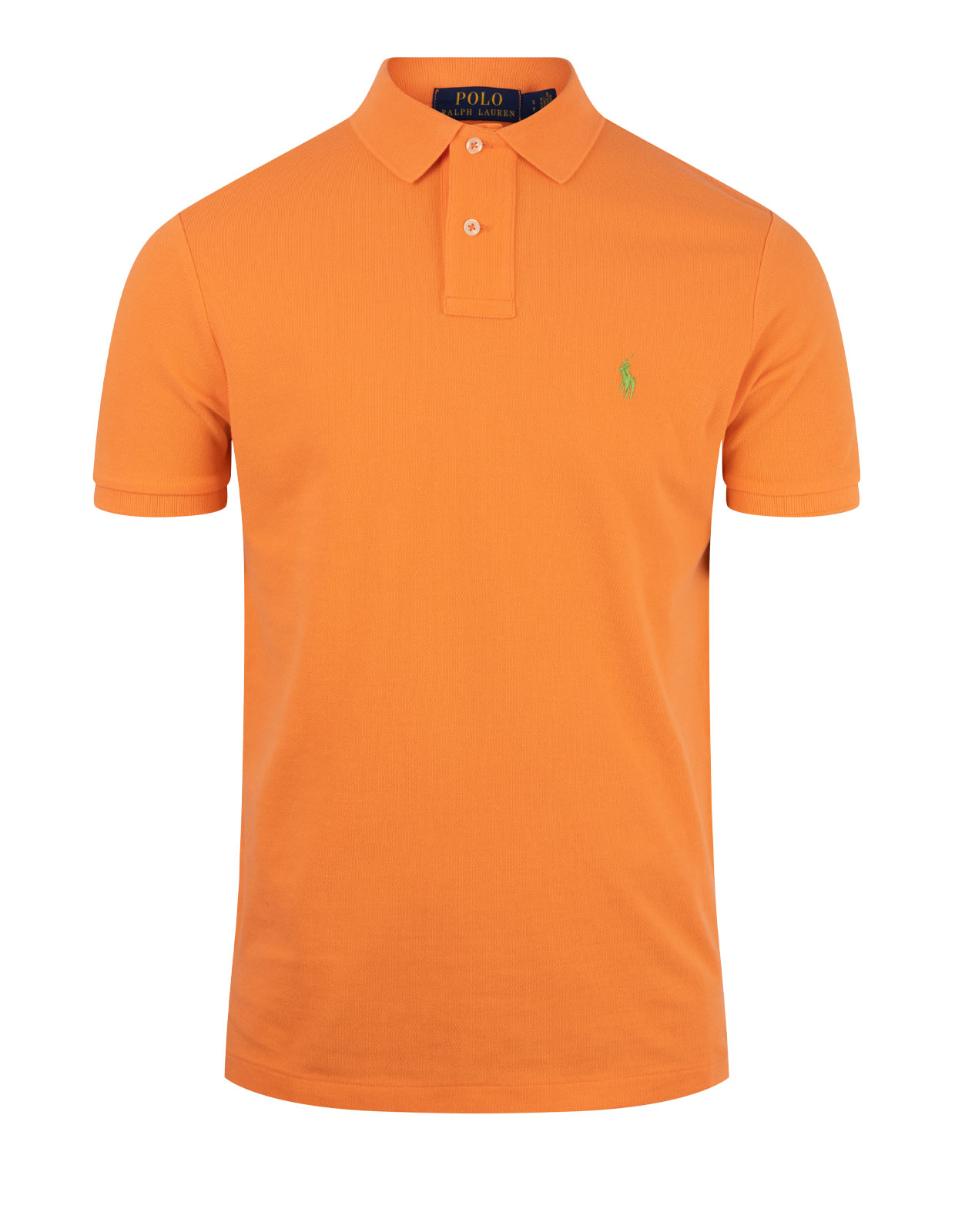 Custom Slim Fit Polo Classic Peach