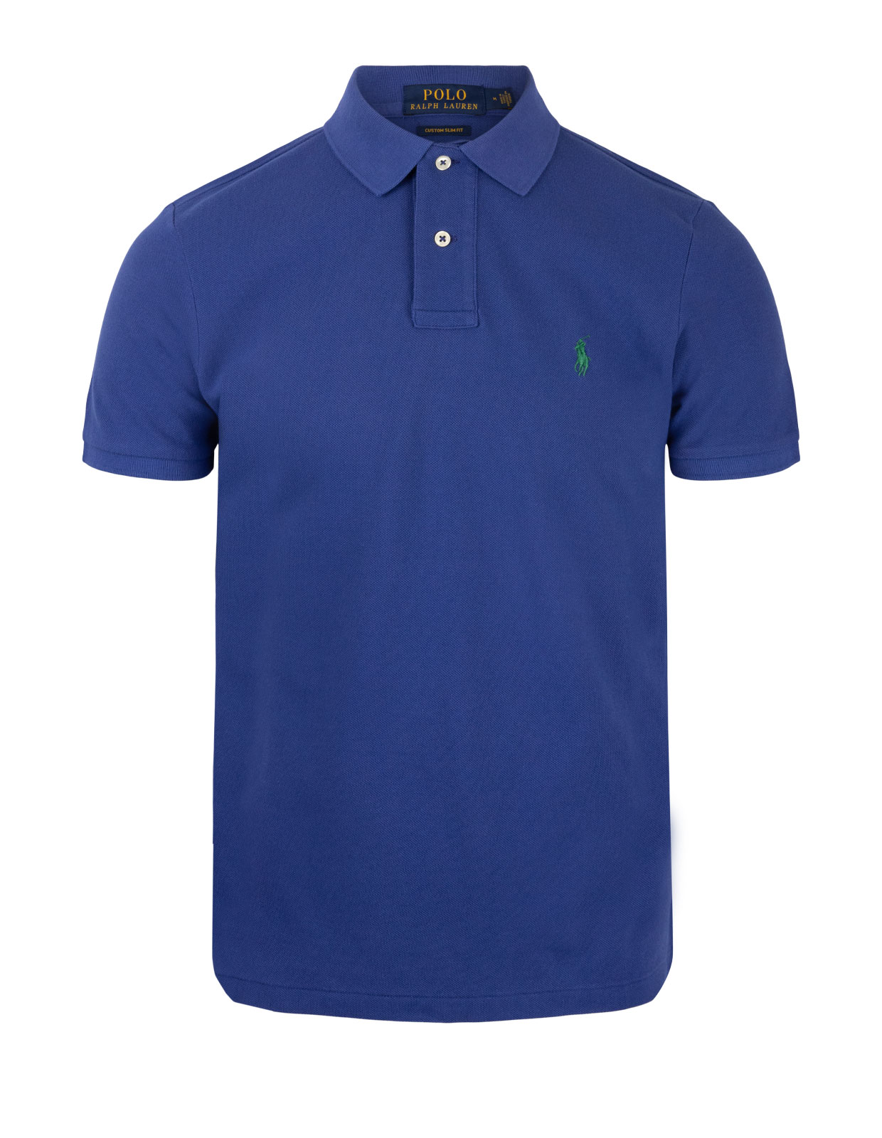 Custom Slim Fit Polo Bright Navy