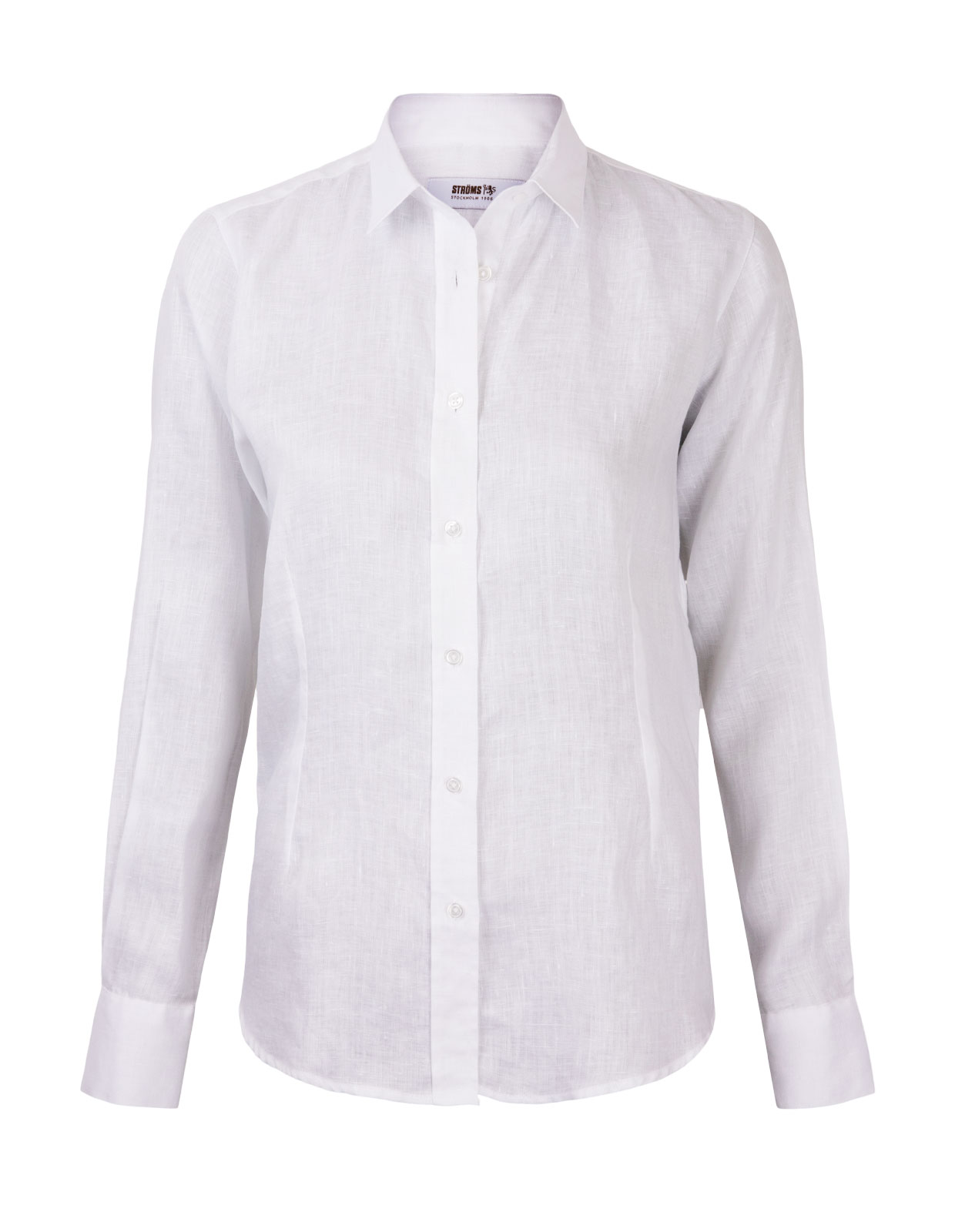 Linnen Shirt Long Sleeve White