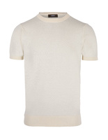T-Shirt Knitted Cotton Panna