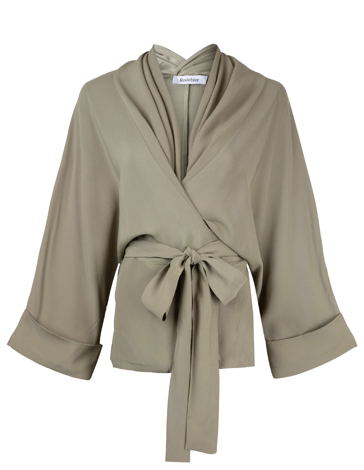 Rodebjer Kimono Tennessee Twill Olive leaf