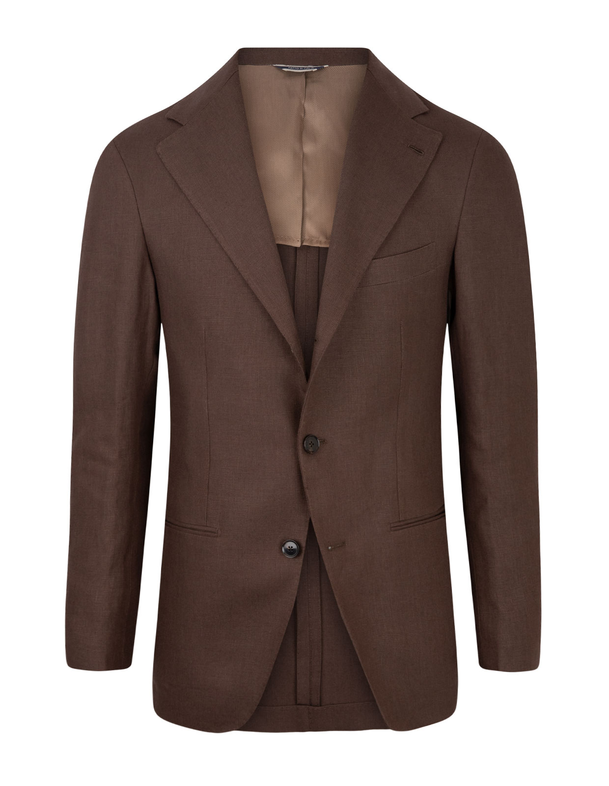 Sartorial Jacket Spence Bryson Linen Brown