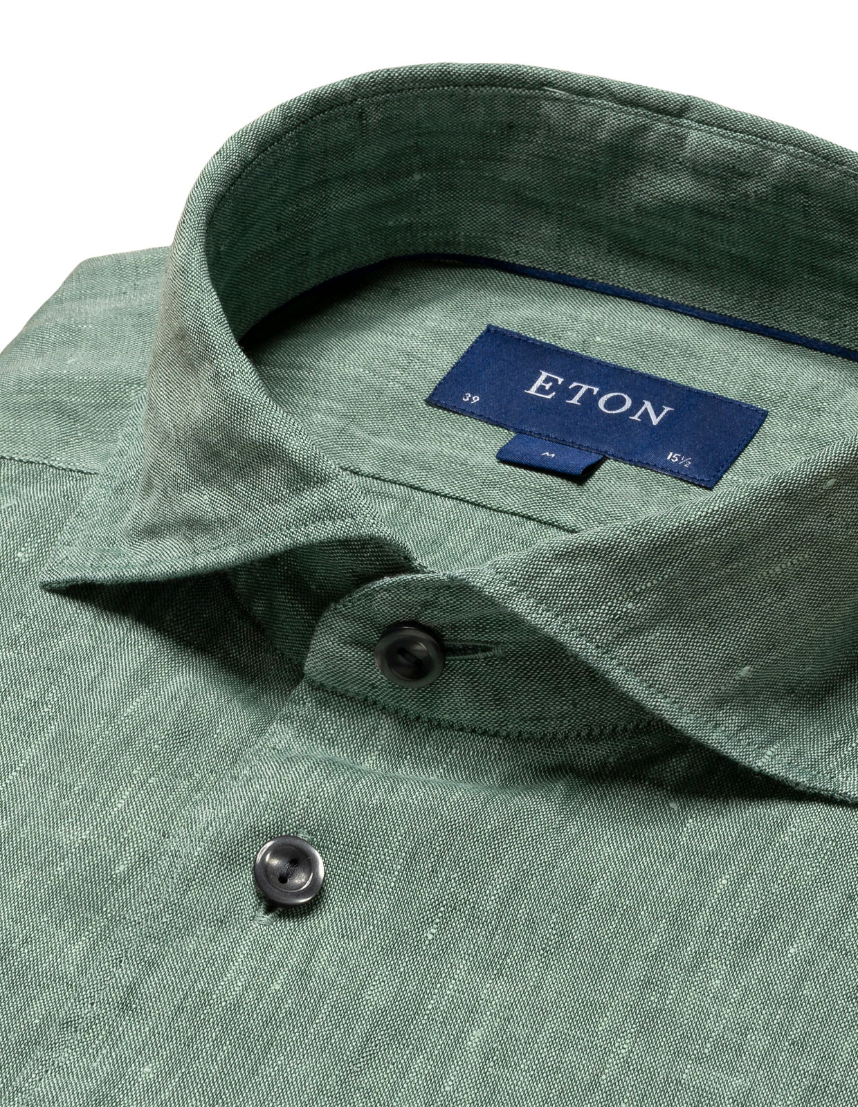 Contemporary Fit Soft Linen Shirt Green