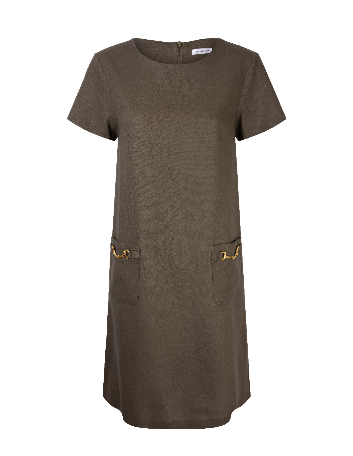 Teardrop Dress Dark Olive