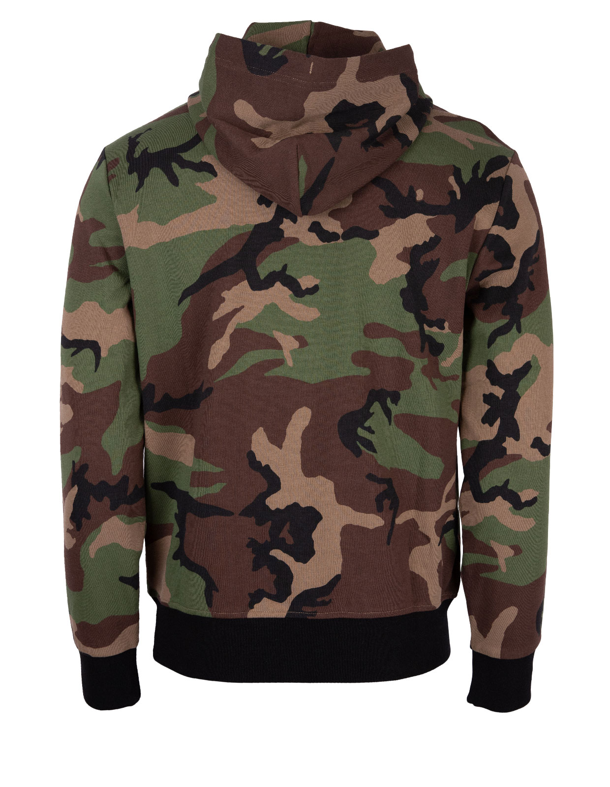 Big Pony Camo Double Knit Hoodie Surplus Camo