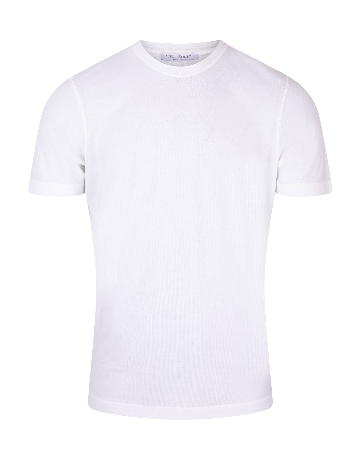 T-shirt Cotton Crew Neck White