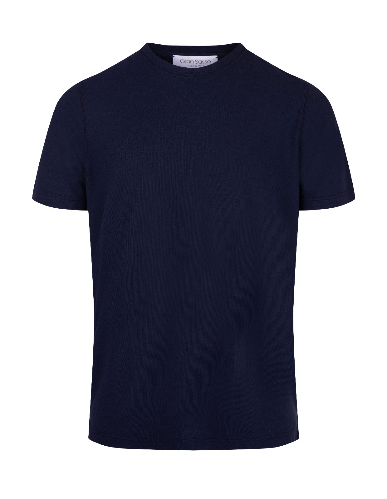 T-shirt Cotton Crew Neck Navy