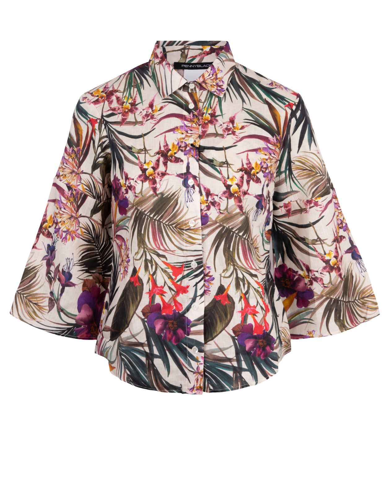 Demetra Shirt Tropical