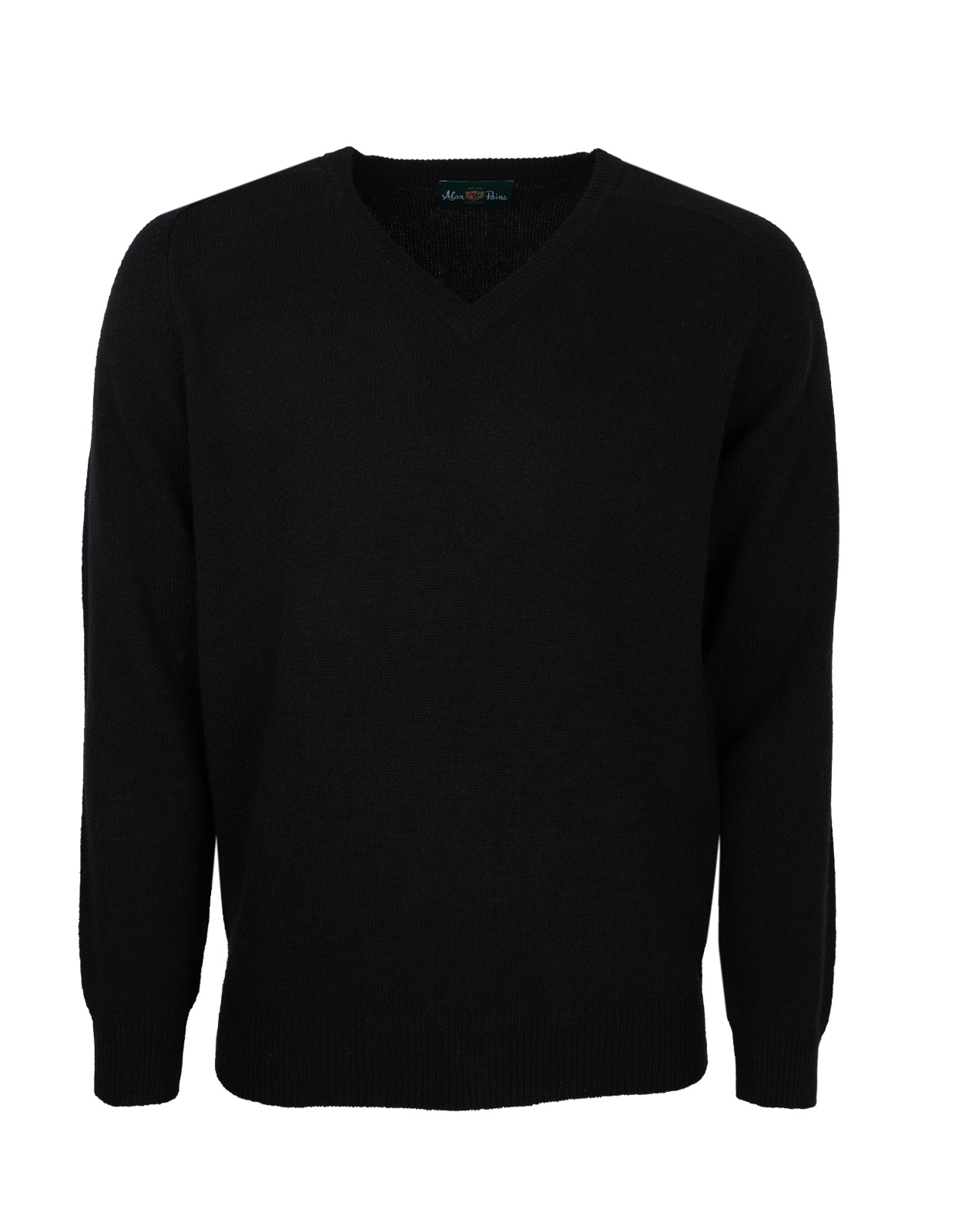 Kilsyth Vee Neck Black