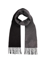 Mirror Cashmere & Silk Scarf BlackGrey