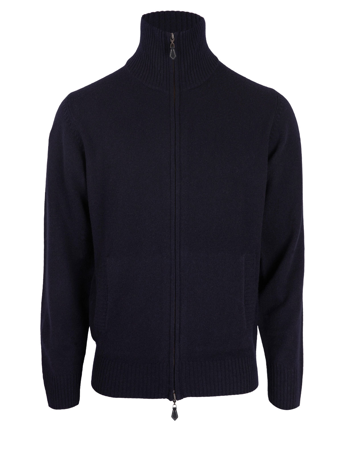 Ballater Full Zip Cardigan Navy