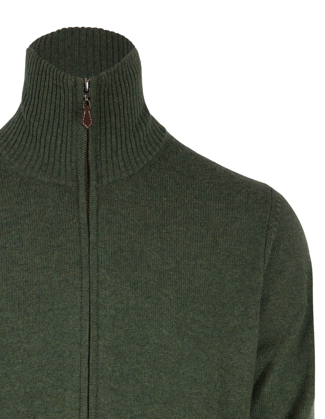 Ballater Full Zip Cardigan Rosemary