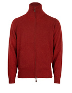 Ballater Full Zip Cardigan Rusty